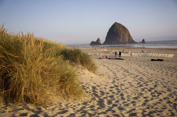 My Cannon Beach image - NOT what I had envisioned.