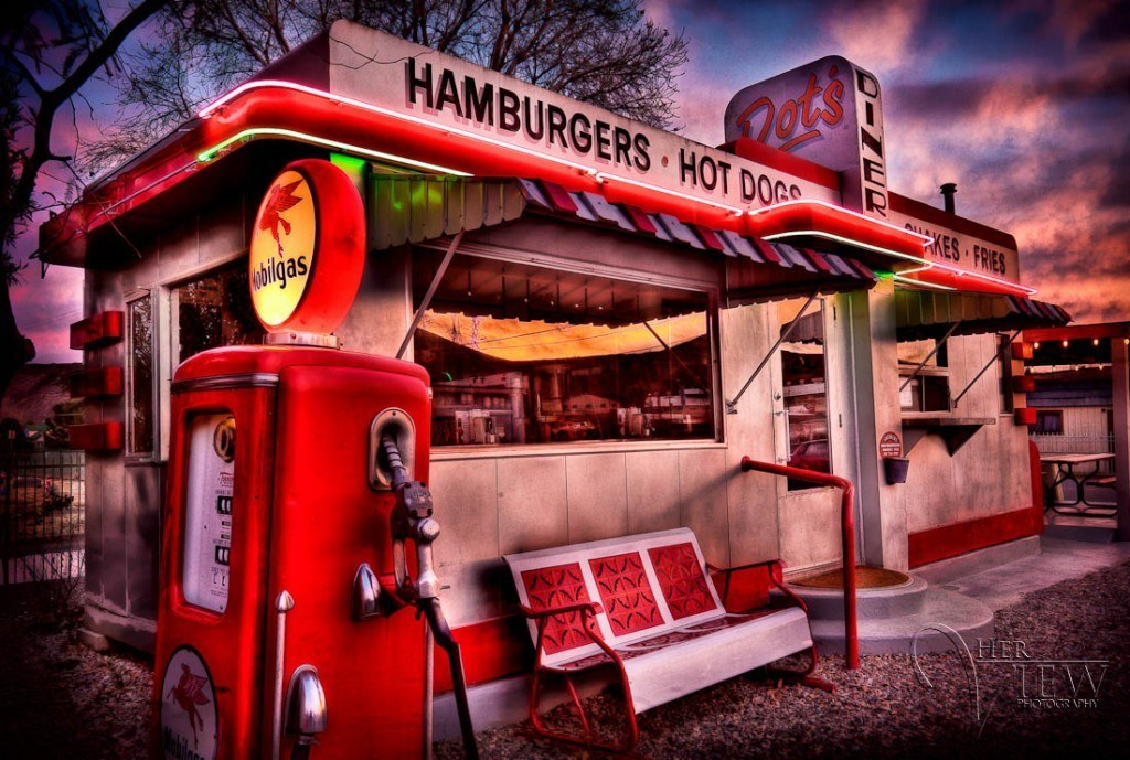 Dot's Diner HDR image featured on Daily HDR website!