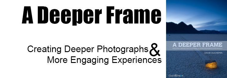 a book review of David DuChemin's A Deeper Frame