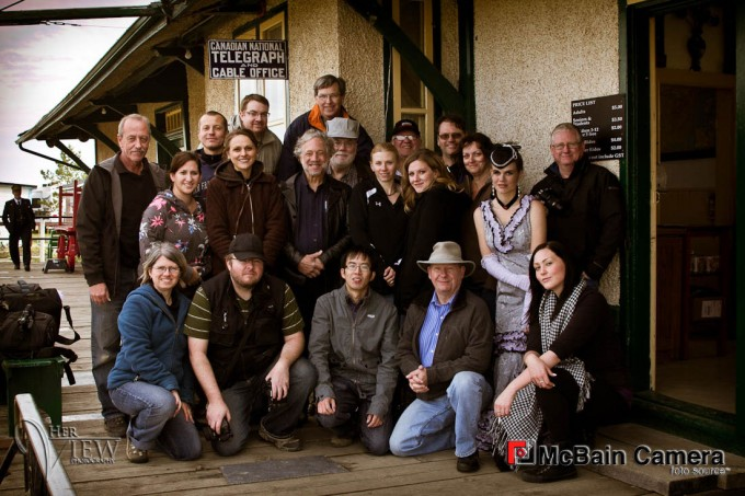 Group photo Train workshop McBain Camera