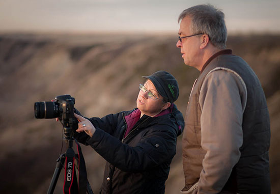 weekend photography workshop in Drumheller Alberta