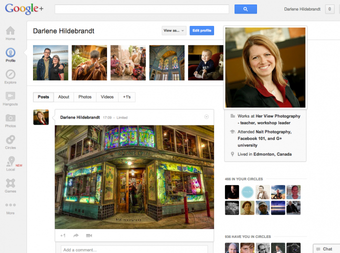 why every photography should be on google plus