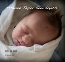 blurb photo book of McKenna Taylor