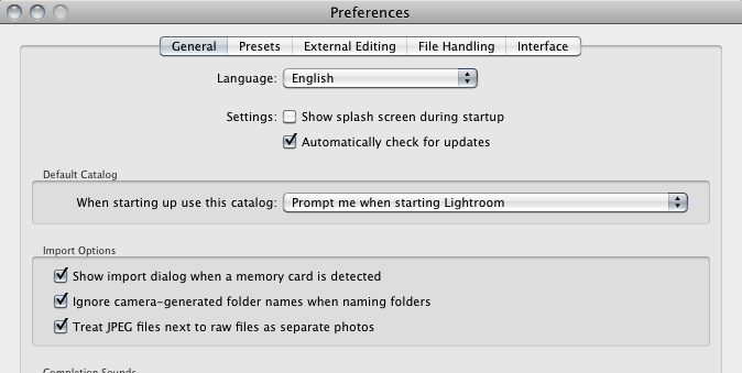 Tips For Setting Up Your Lightroom Preferences