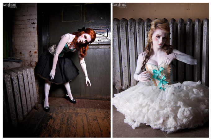 photography project, doll collection by Darcy Evans
