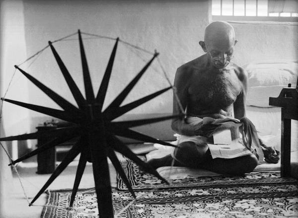 Gandhi by Margaret Bourke-White ©LIFE