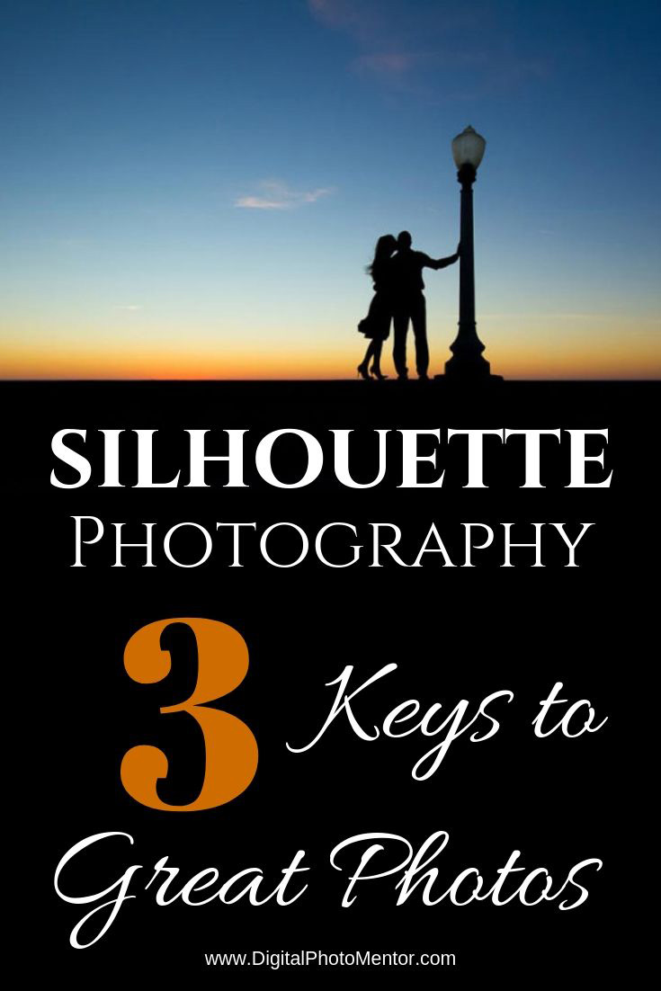 Silhouette photography tips and ideas for how to photograph your best silhouette of couples or kids at sunset.