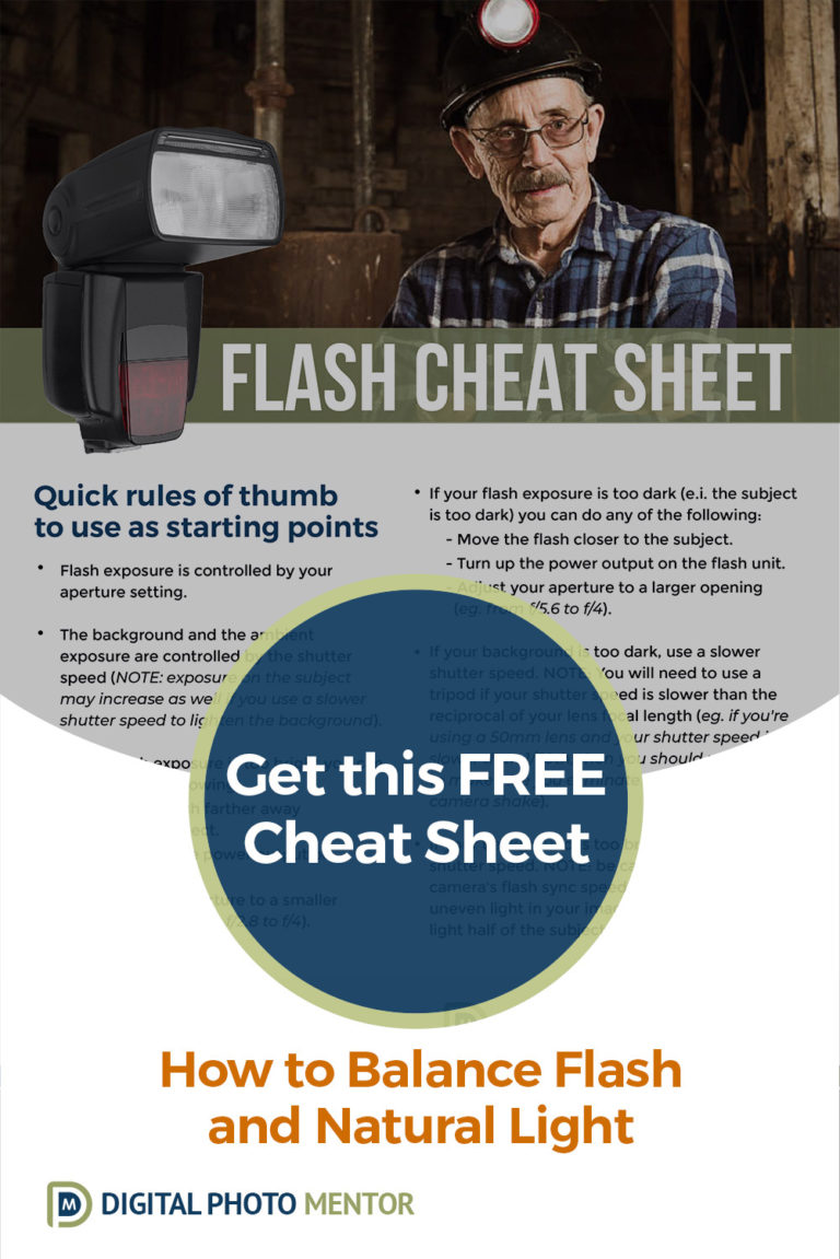 flash photography tutorial cheat sheet for off camera flash techniques