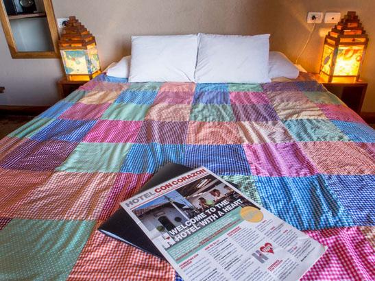 Hotel con corzaon room