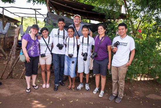 photo walk with empowerment international kids