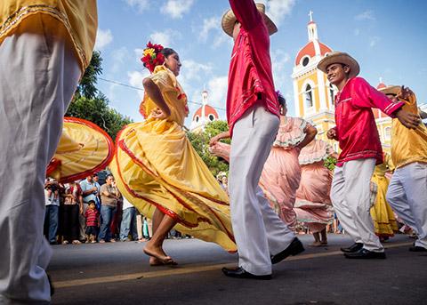 Traditionial Nicaraguan Dancers
