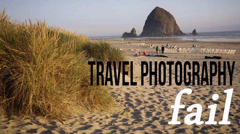 How to Avoid Travel Photography Failure