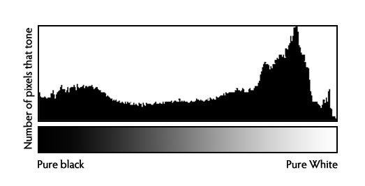 camera Histogram legend