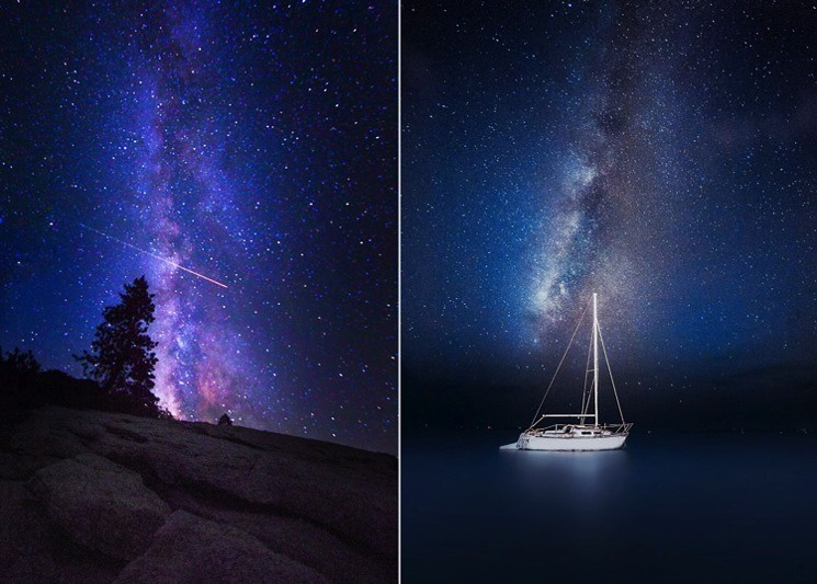Milky way photography without star trails in the shot