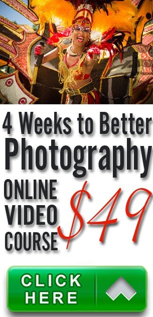 4 Weeks To Better Photography, an online course