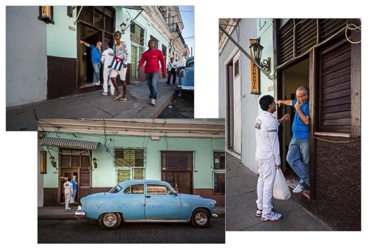 Street phototography scene development