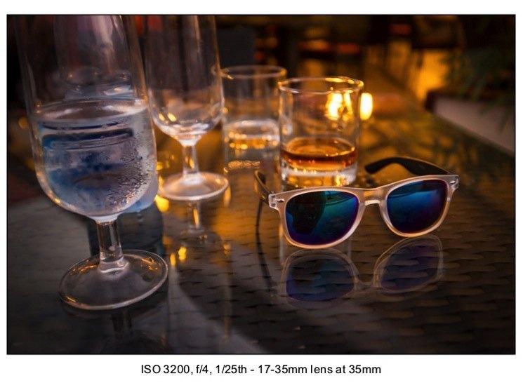 Low light photography exposure 12