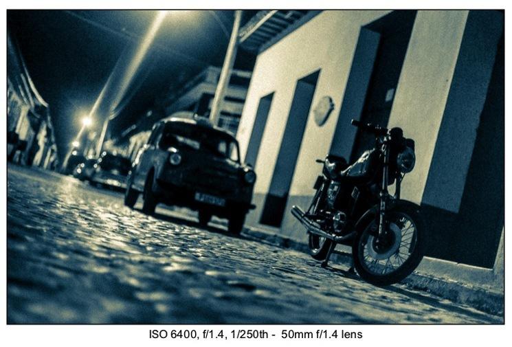 Low light photography exposure 16