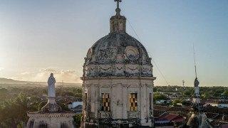 church steeple in Nicaragua