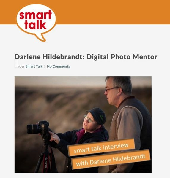 Smart talk podcast darlene interview