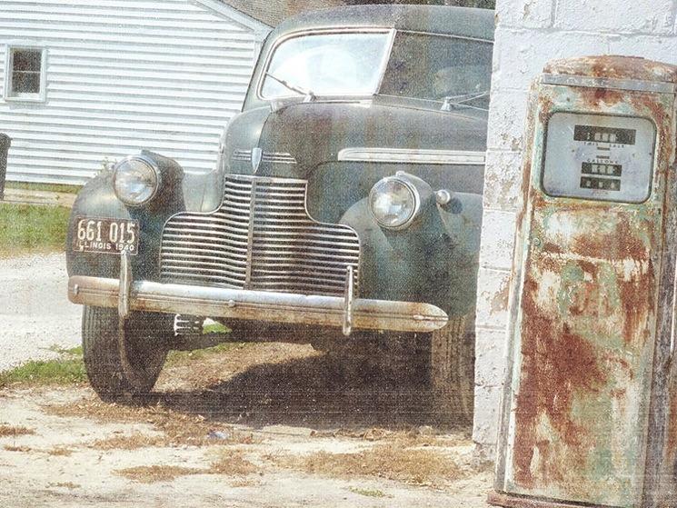 Vintage car 3d