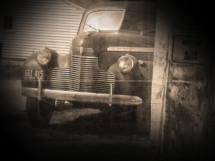 Vintage car 6a