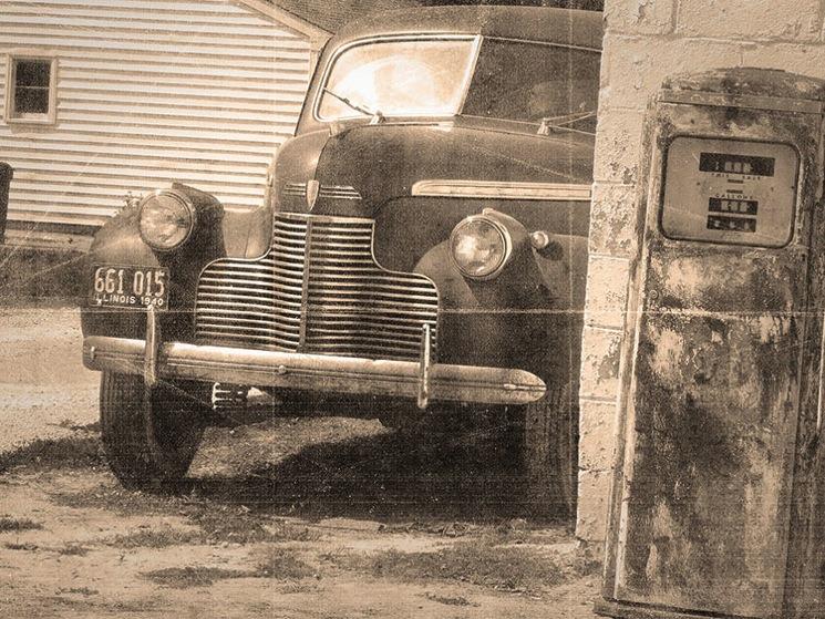 Vintage car 6b