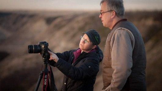 weekend photography workshop in Drumheller Alberta