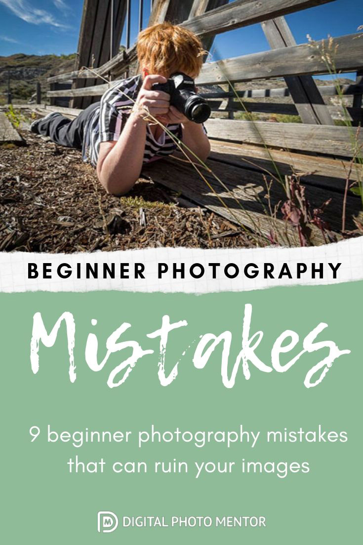Beginner photography tips and tutorial for getting better photos and eliminating some mistakes.