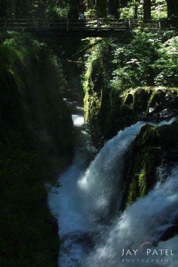 Sol Duc  Falls Before