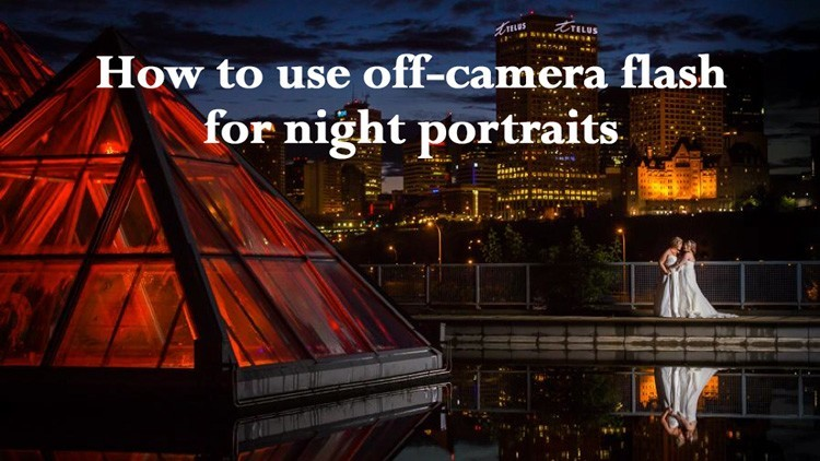 How to Use Off-Camera Flash to Create a Dramatic Night Portrait