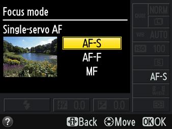 Modos de foco da Nikon para obter fotos mais nítidas