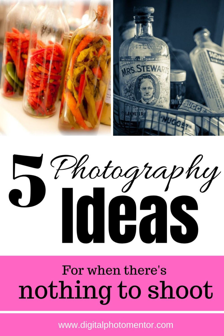 5 creative photography ideas for beginners to learn camera skills.