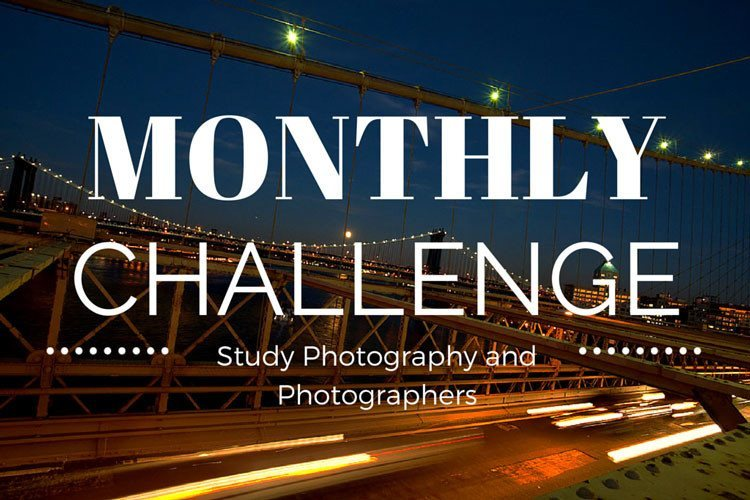 Monthly Challenge – Study Photographers