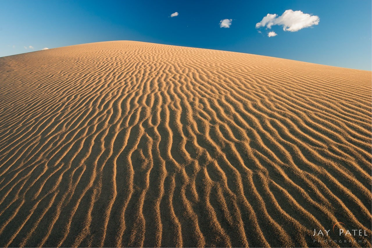 polarizer filter sand dunes example jay patel