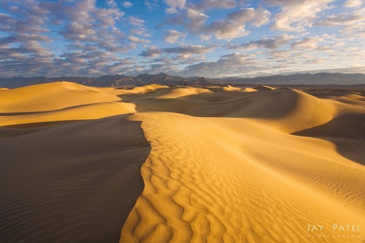 polarizer filter example on sand dunes jay patel