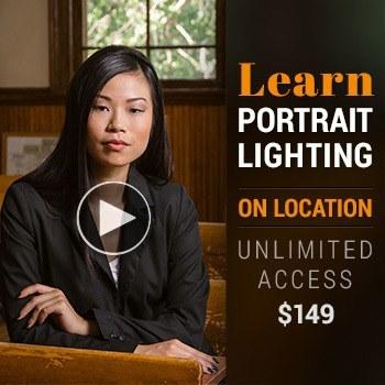 portrait photography lighting course