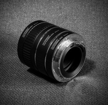 macro lens with extension tubes
