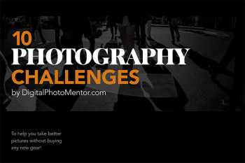 10 photography challenges book cover