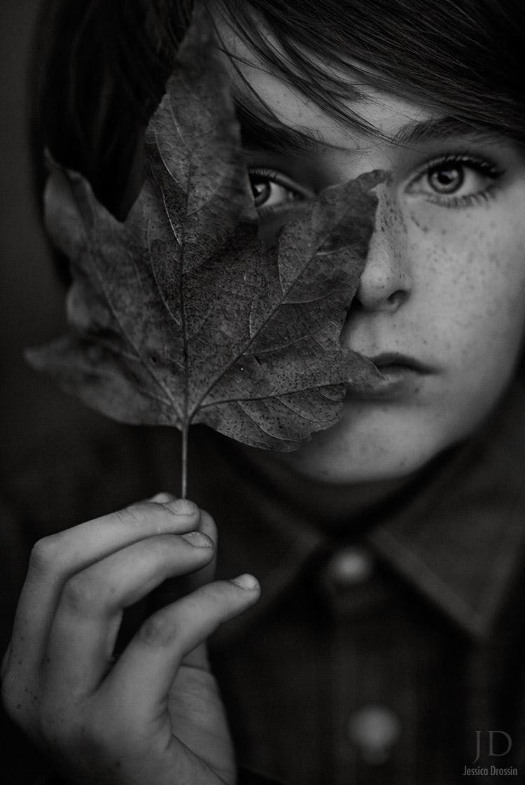 B W Leaf