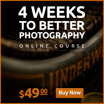 Banner: 4 weeks to better photography b