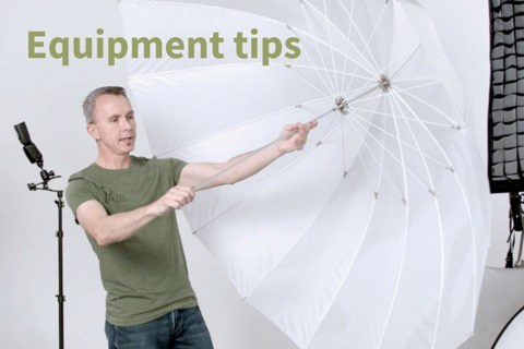portrait photography Equipment tips are covered in this class