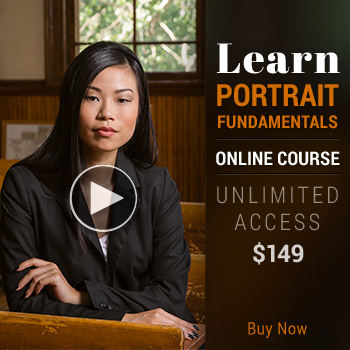 Banner: Learn Portrait Photography  Fundamentals