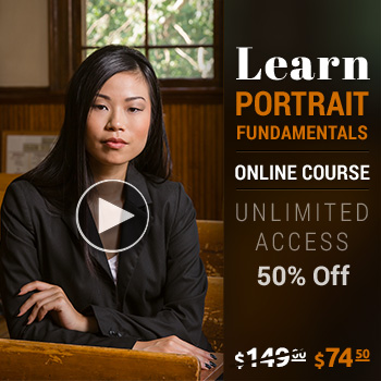 Portrait fundamentals 50 percent off