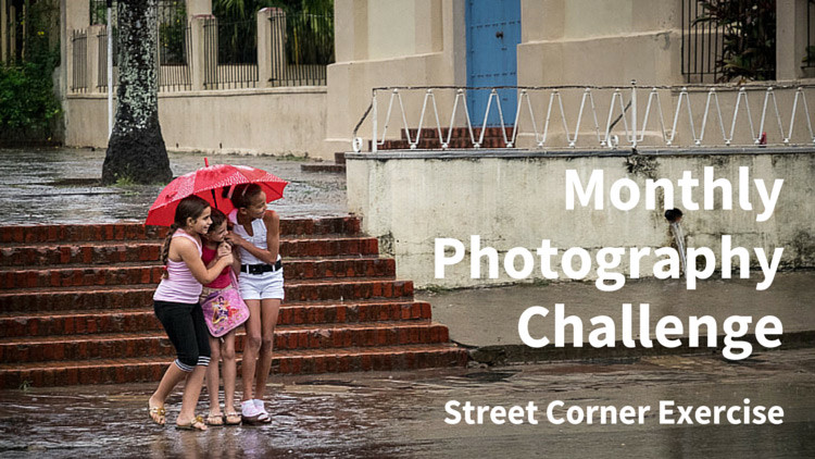 Street Corner Exercise – Photography Challenge