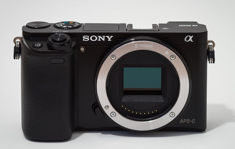 Sony Alpha ILCE-6000 APS-C frame camera no body cap-Crop