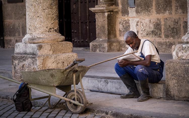 Street corner photography challenge Havana Cuba