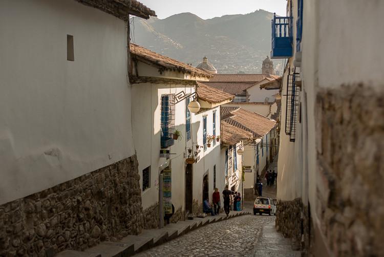 Street in San Blas - Cusco, Peru