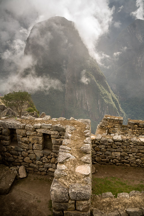 Truly a marvel, built atop a mountain - Machu Picchu, Peru.