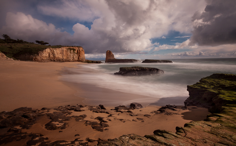 Exmple of shot taken using neutral density filter taken in Davenport California